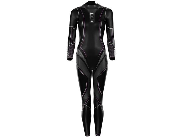 HUUB Aura 2 3:3 Wetsuit Women black/pink/white